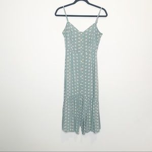 Mimi Chica Flower Button Down Front Dress